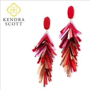 NEW KENDRA SCOTT JUSTYNE EARRINGS